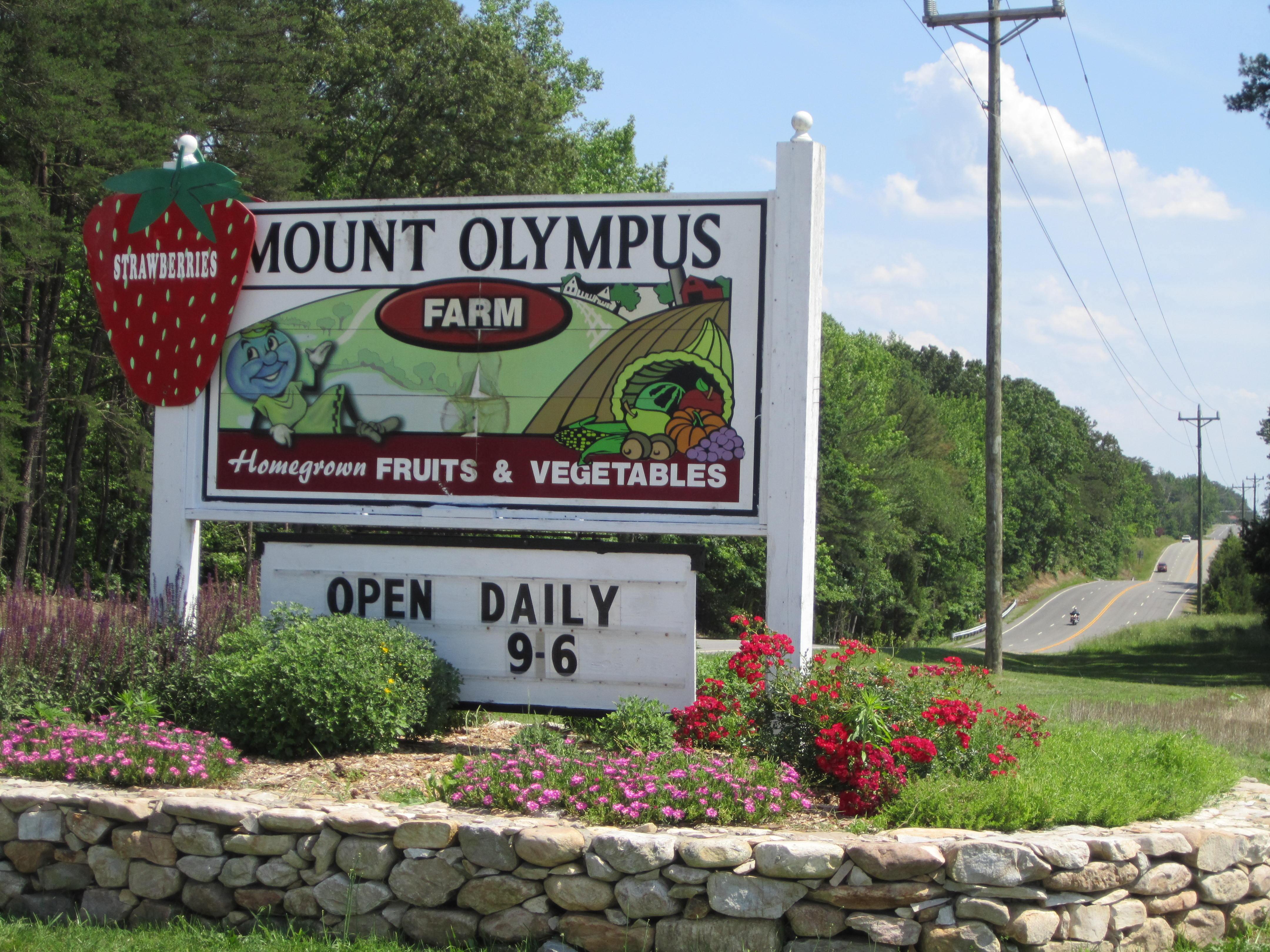 Mt Olympus Berry Farm Affwestend